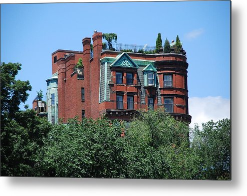 Boston Metal Print featuring the photograph Tree House by Michael L Gentile