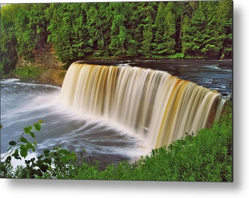 Tahquamenon Metal Print featuring the photograph Upper Tahquamenon 6229 by Michael Peychich