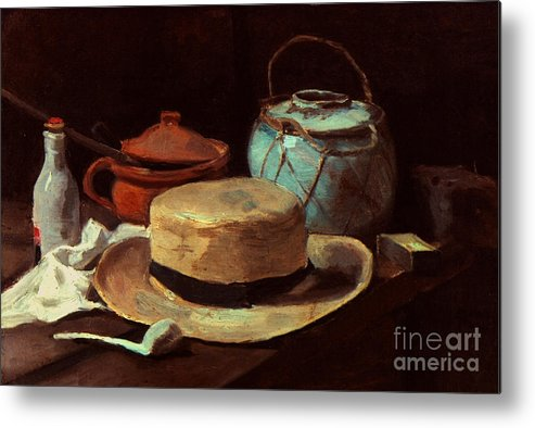 1885 Metal Print featuring the photograph Van Gogh: Still Life, 1885 by Granger