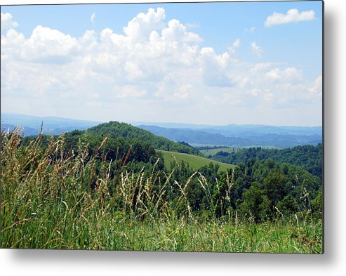 Scenic Metal Print featuring the photograph View From Copper Ridge by Patsy Phillips