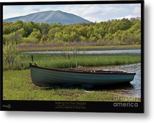 Kerstin Hellmann Metal Print featuring the photograph Waiting For The Skipper by Key Media Photography