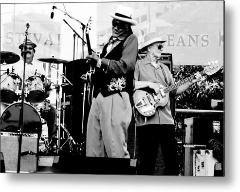 Little Freddie King Metal Print featuring the photograph Walkin' With The King by David Fields