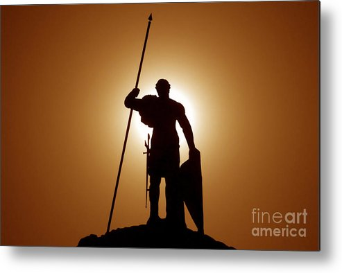 Warrior Metal Print featuring the photograph Warrior by David Lee Thompson