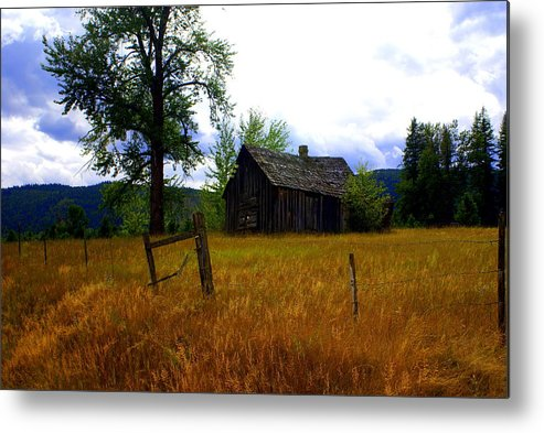 Landscape Metal Print featuring the photograph Washington Homestead by Marty Koch
