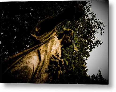 Angel Metal Print featuring the photograph Watching Over by Grebo Gray