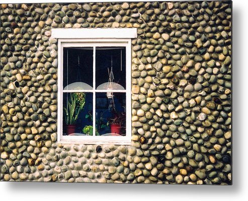 Architecture Metal Print featuring the photograph Window In Nova Scotia by Robert Gladwin