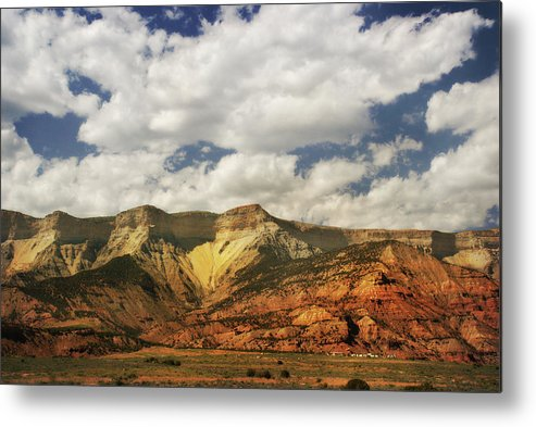 Scenics Metal Print featuring the photograph Colorado Mountains by Moosebitedesign