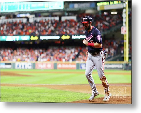 People Metal Print featuring the photograph Juan Soto And Adam Eaton by Mike Ehrmann