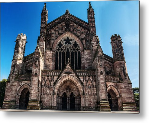 Cathedral Metal Print featuring the photograph Hereford Cathedral by Colin Nicholls