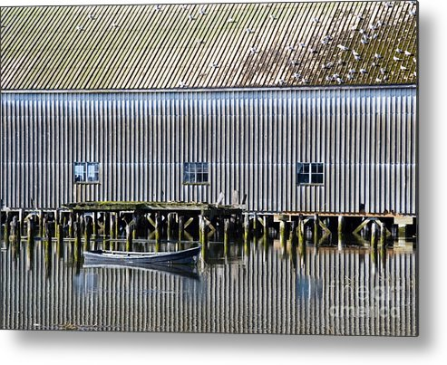 Boat Metal Print featuring the photograph Reflection by Volodymyr Kyrylyuk