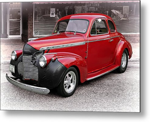 Transportation Metal Print featuring the photograph 1940 Chevy Coupe by Marcia Colelli