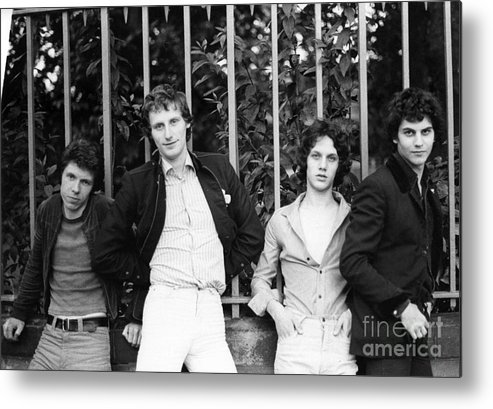 The Metal Print featuring the photograph The Boyfriends by David Fowler