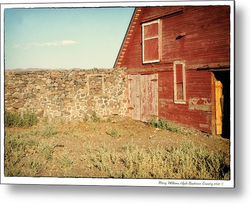 Metal Print featuring the photograph 6333 by Mary Williams Hyde