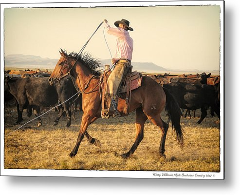 Metal Print featuring the photograph 6607 by Mary Williams Hyde