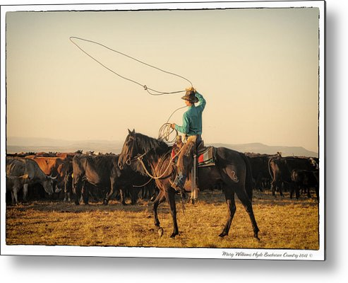 Metal Print featuring the photograph 6724 by Mary Williams Hyde