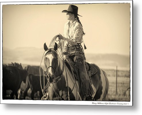 Metal Print featuring the photograph 7221 by Mary Williams Hyde