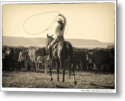 Metal Print featuring the photograph 7467 by Mary Williams Hyde