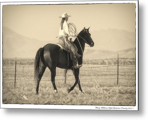 Metal Print featuring the photograph 7521 by Mary Williams Hyde