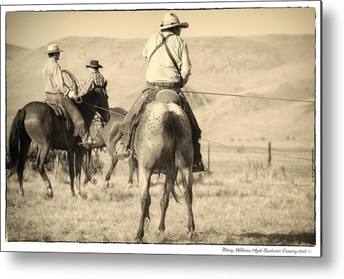 Metal Print featuring the photograph 7615 by Mary Williams Hyde