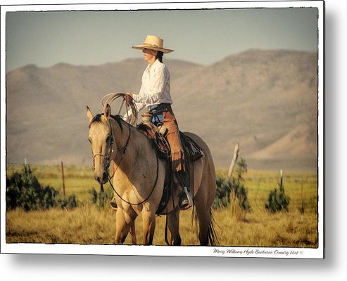 Metal Print featuring the photograph 7633 by Mary Williams Hyde