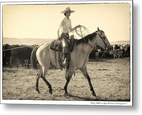 Metal Print featuring the photograph 7842 by Mary Williams Hyde