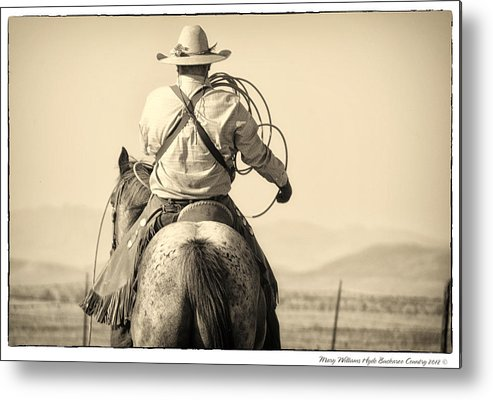 Metal Print featuring the photograph 7900 by Mary Williams Hyde