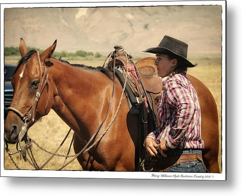 Metal Print featuring the photograph 8911 by Mary Williams Hyde