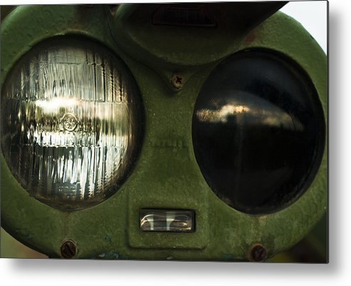 Alien Eyes Metal Print featuring the photograph Alien Eyes by Christi Kraft