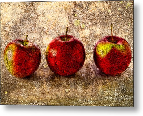 Apple Metal Print featuring the photograph Apple by Bob Orsillo