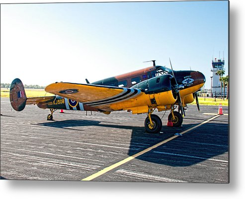 Metal Print featuring the photograph Beachcraft - Bucket-o-bolts by John Black