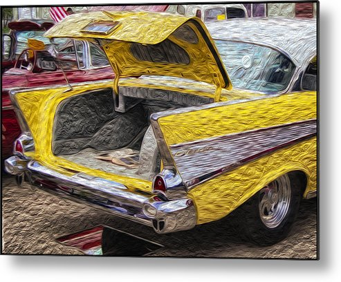 Bel Air Boot Metal Print featuring the photograph Bel Air Boot by Adele Buttolph