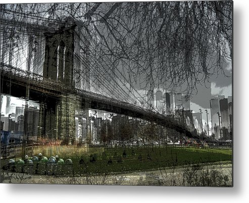 Brooklyn Metal Print featuring the photograph Brooklyn Shakes by Jeff Watts