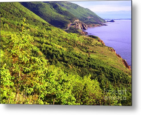 Canada Metal Print featuring the photograph Cape Breton Highlands National Park by Thomas R Fletcher