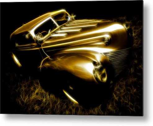 39 Ford Metal Print featuring the photograph Custom Ford Roadster by Phil 'motography' Clark