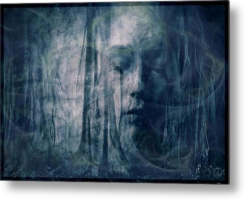 Nature Metal Print featuring the digital art Dreamforest by Gun Legler