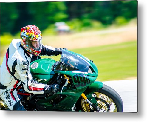 Ama Metal Print featuring the photograph Fast Focus by Thomas Ricks