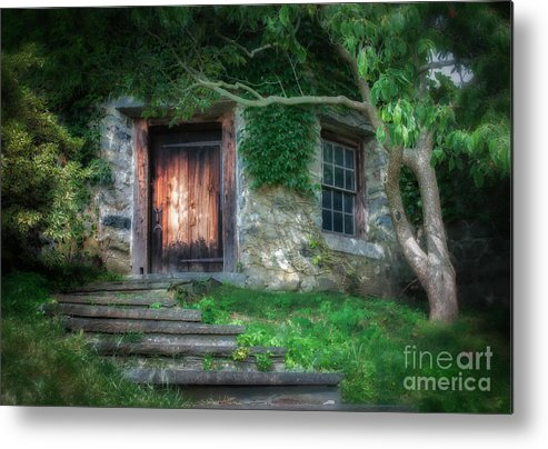 Metal Print featuring the photograph Hobbit House by Scott Thorp
