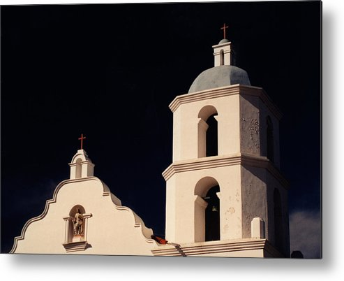 Mission Metal Print featuring the photograph Mission San Luis Rey by Thomas Daley