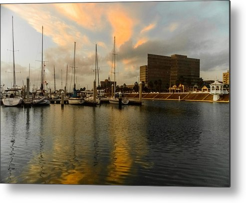 Reflections Metal Print featuring the photograph Morning Reflections by Leticia Latocki