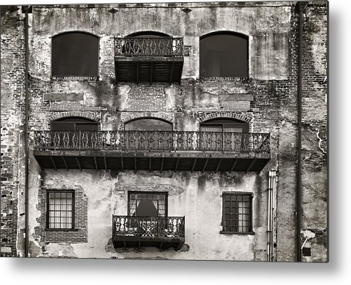 Sepia Metal Print featuring the photograph Old Savannah by Mario Celzner