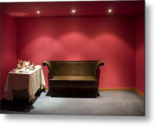 Room Service Metal Print featuring the photograph Room Service by Lynn Palmer