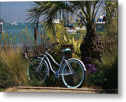 Mandala Metal Print featuring the photograph Sausalito Summer by Alicia Kent