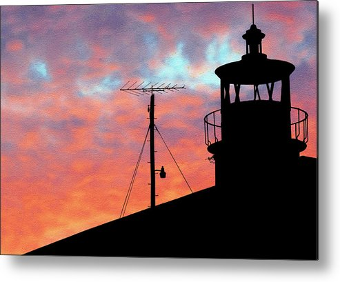 St. Michaels Metal Print featuring the photograph St Michaels by Mike Flynn