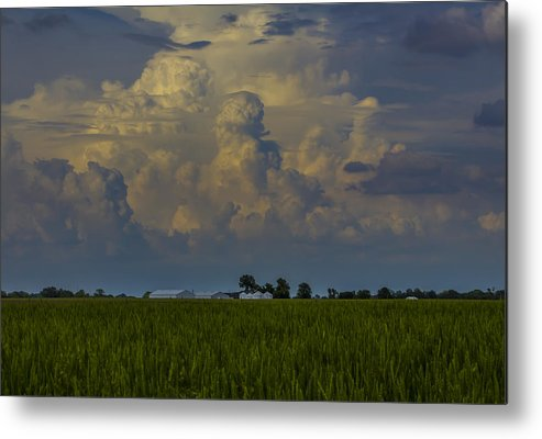 Clouds Metal Print featuring the photograph Summer Storms by Jake Thompson