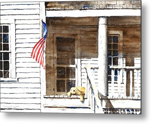 4th Of July Metal Print featuring the painting The 5th Of July by William Beaupre