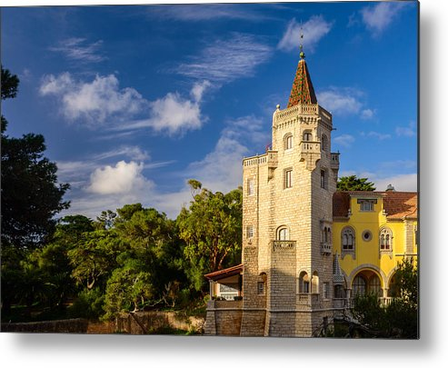 Tower Metal Print featuring the photograph Tower Of St. Sebastian II by Marco Oliveira