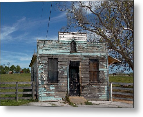 Post Office Metal Print featuring the photograph Undelivered Mail by Skip Willits