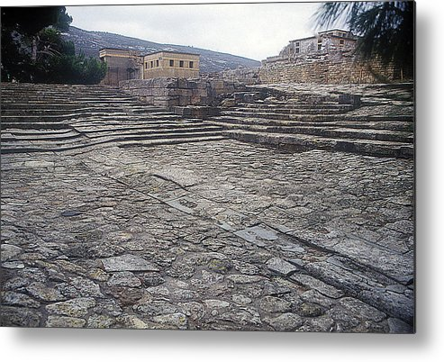 Knossos Theatre Metal Print featuring the photograph Theatre by Andonis Katanos
