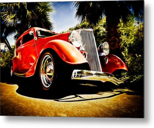 Ford Tudor Metal Print featuring the photograph 1930s Ford Tudor by Phil 'motography' Clark