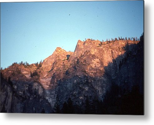 Yosemite Metal Print featuring the photograph A Touch Of Alpenglow by Chris Gudger